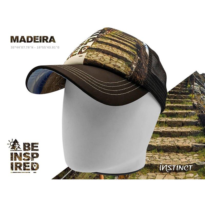 Casquette Trucker Instinct Madeira beige