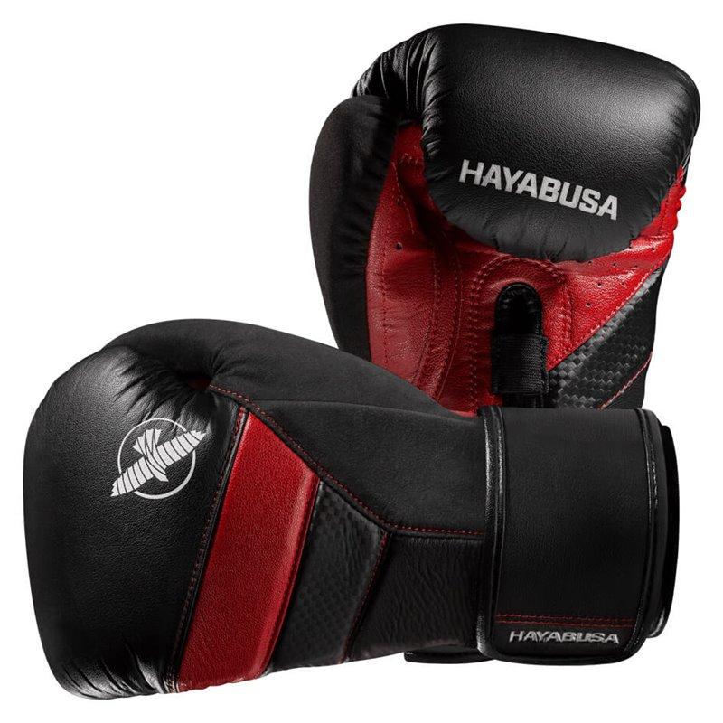 Gants de boxe Hayabusa T3 noirs/rouges