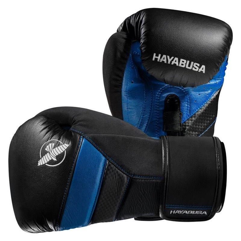 Gants de boxe Hayabusa T3 noirs/bleu
