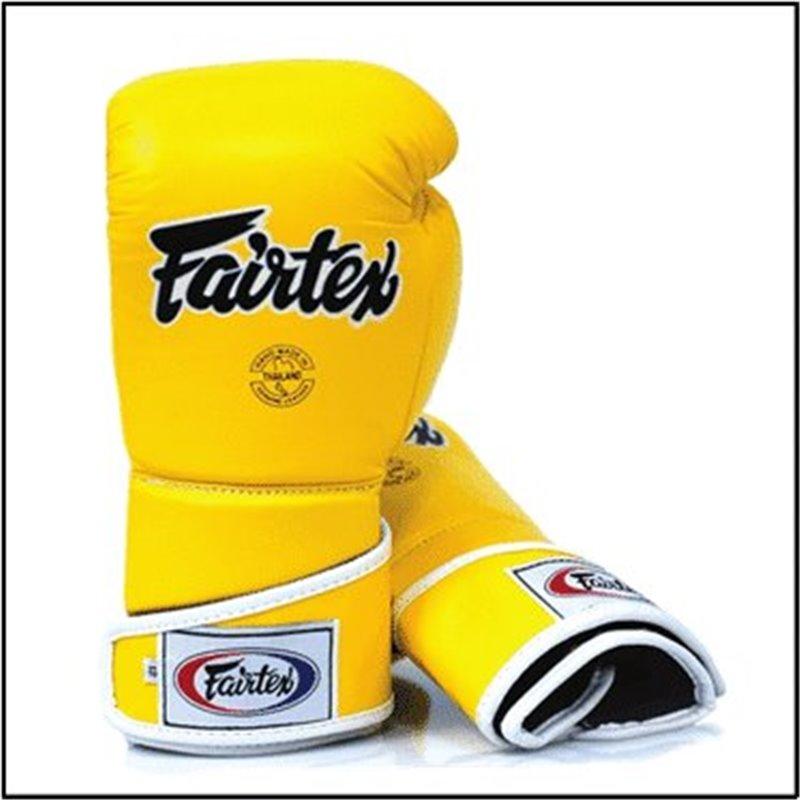 Gants boxe Fairtex V6 Jaune