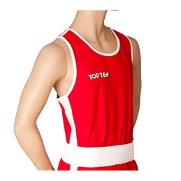 Debardeur de boxe premium Topten rouge