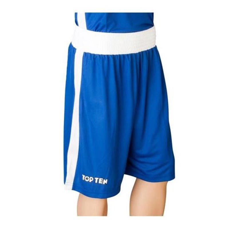 Short de boxe premium Topten bleu