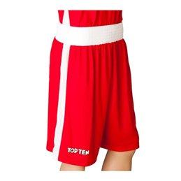 Short de boxe premium Topten rouge