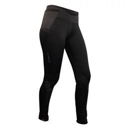 Collant long Stretch Raider femme noir