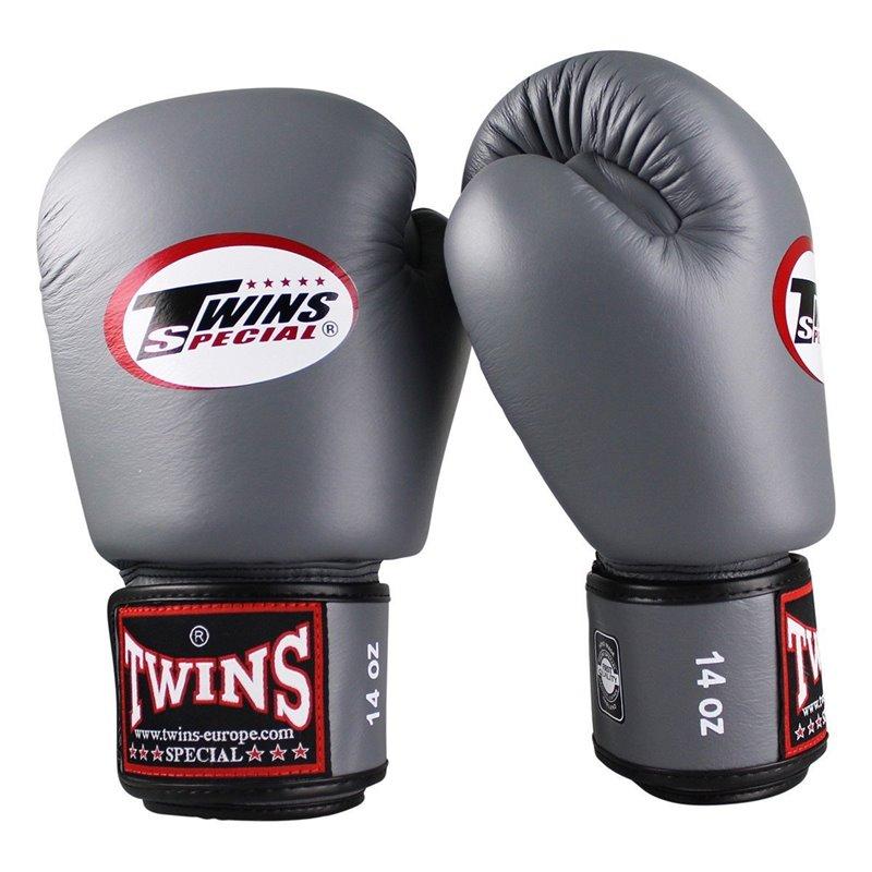 Gants de boxe Twins gris BGVL-3