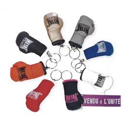 Porte cles Metal Boxe mini gants de boxe