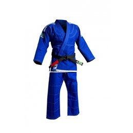 Kimono jujitsu bresilien Adidas JJ450 bleu
