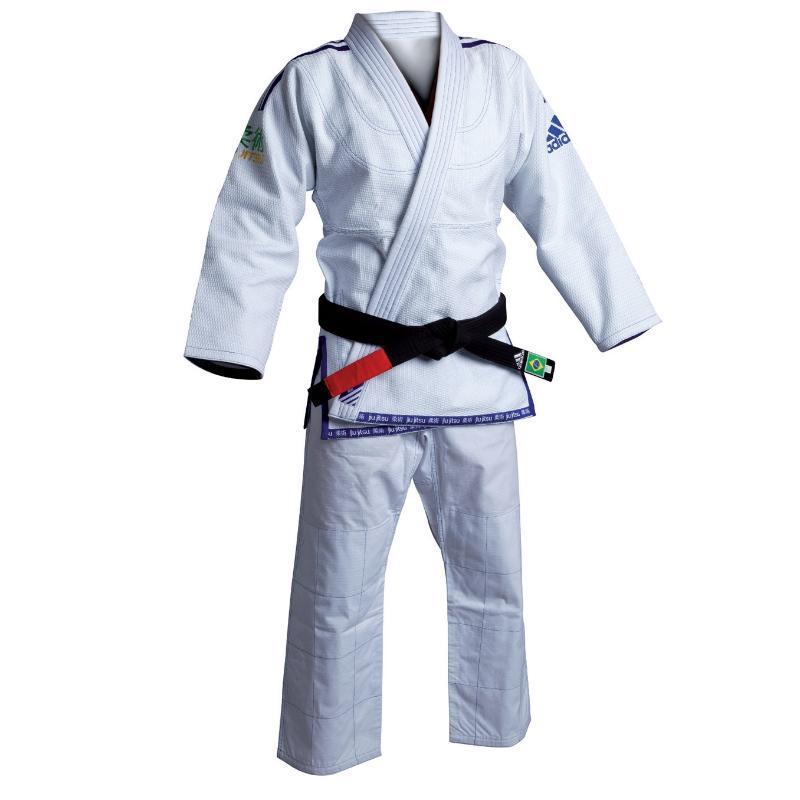 Kimono jujitsu bresilien Adidas JJ450 blanc