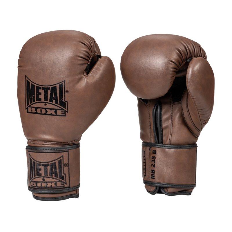 Gants de mb235 Metal Boxe marron