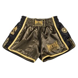 Shorts thai Metal Boxe Kaki