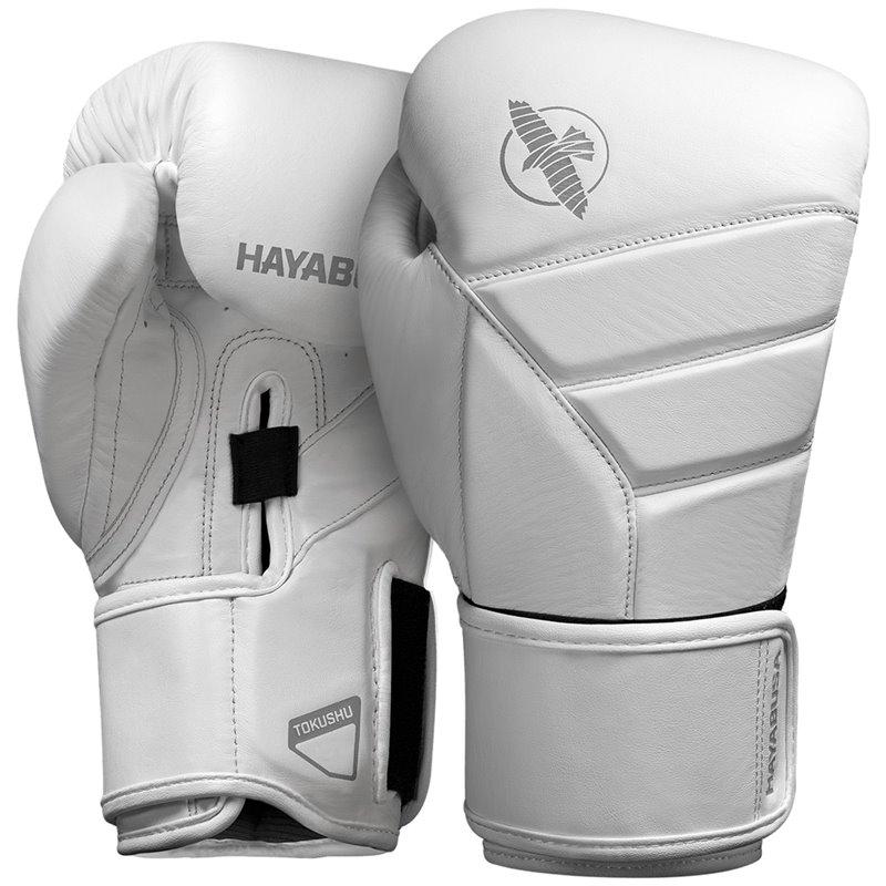 Gants de boxe Hayabusa T3  Cuir Kanpeki full Blanc
