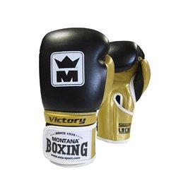 Gants boxe Victory cuir Montana