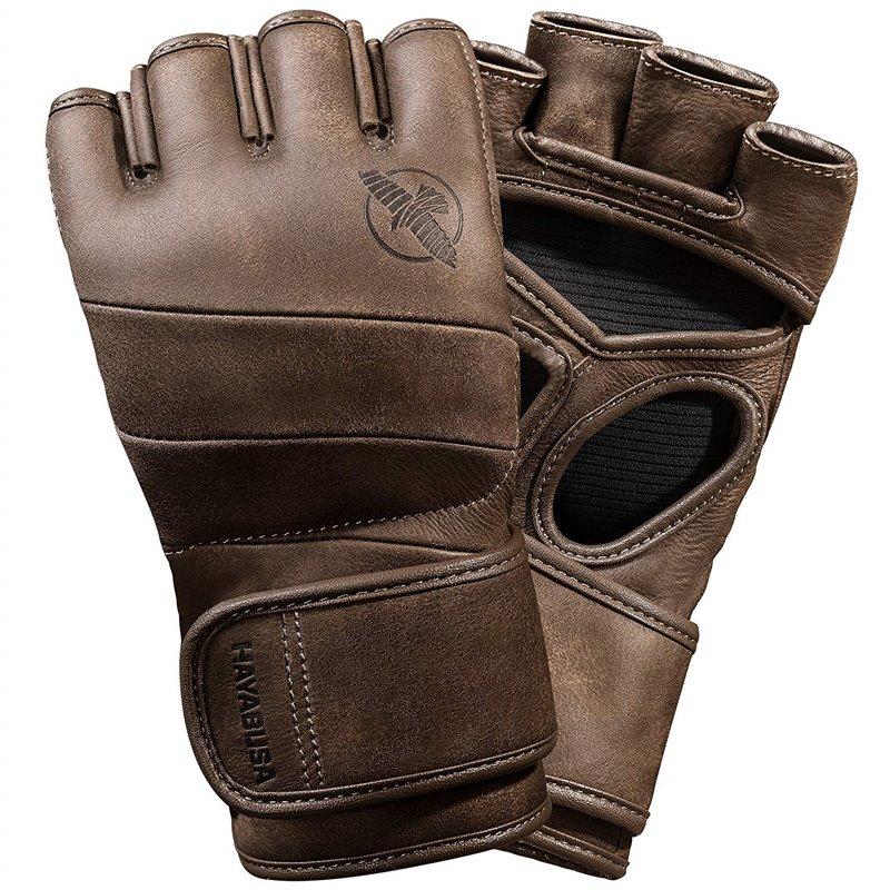 Gants de MMA Hayabusa KANPEKI  marrons vintage
