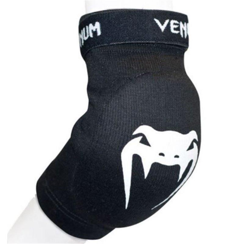 Coudière Venum avec scratch biceps noire/blanche