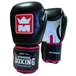 Gants boxe Sparring cuir Montana