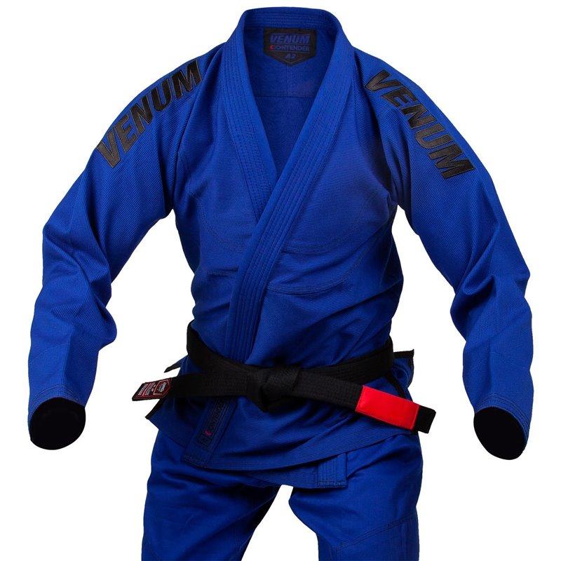 Kimono jujitsu bresilien Venum Contender Evo bleu