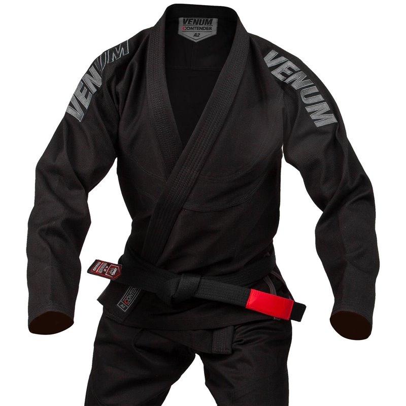 Kimono jujitsu bresilien Venum Contender Evo noir