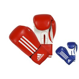 Gants boxe debutants Adidas Energy rouge ou bleu