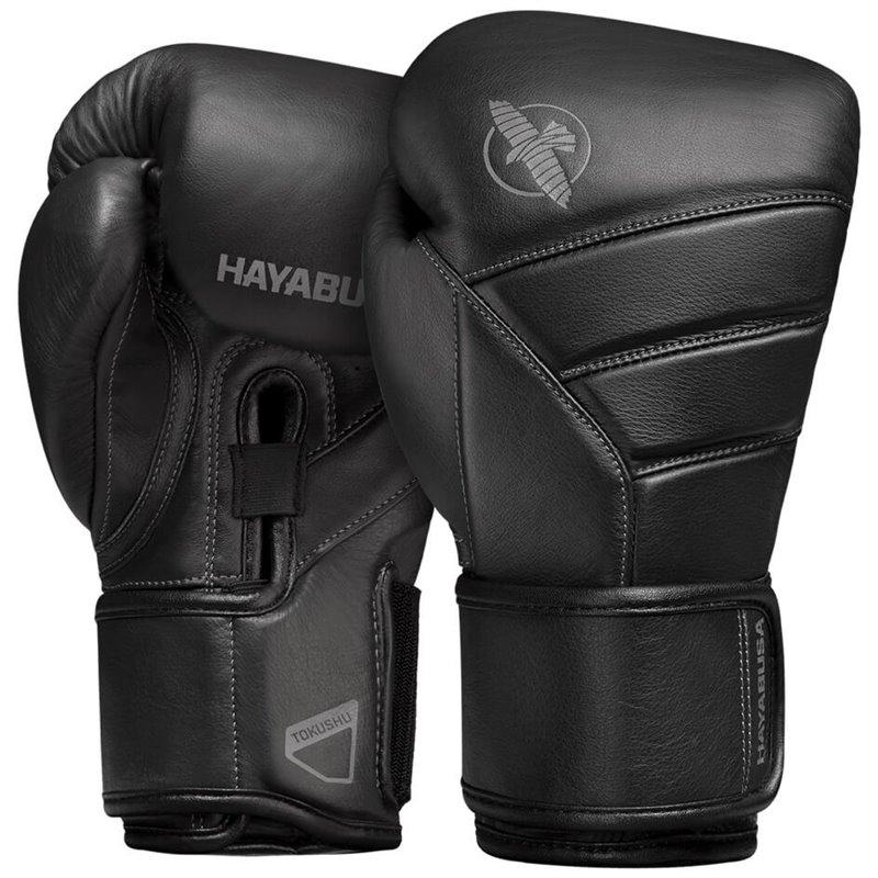 Gants de boxe Hayabusa T3  Cuir Kanpeki full Noir