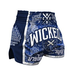 Short Muay-thai et Kick WickedOne Dragon thai Marine