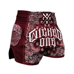 Short Muay-thai et Kick WickedOne O.G Rouge