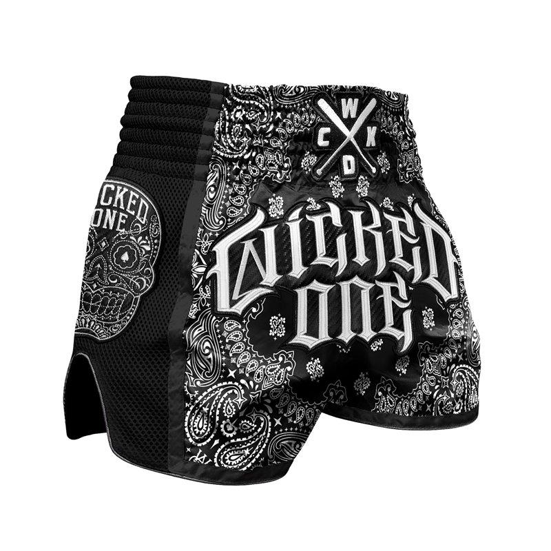 Short Muay-thai et Kick WickedOne O.G Blanc