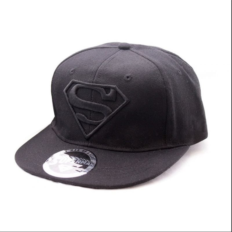 Casquette Superman black black