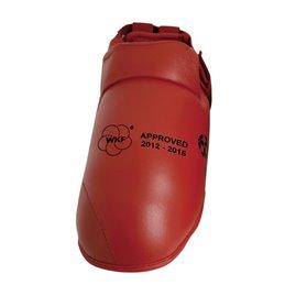 Protege pieds Hayashi WKF rouge