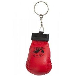 Porte clé mini mitaine Karaté tokaido rouge