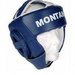 Casque de boxe Montana Amateur 34 l2 bleu