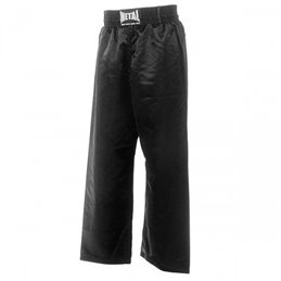 Pantalon full contact noir junior Metal Boxe