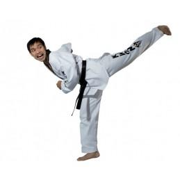 Dobok col blanc Kwon Starfighter col noir