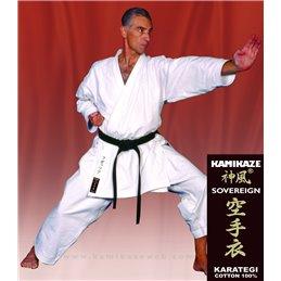Kimono de Kata Sovereign Kamikaze blanc