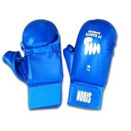 Gants FF Karaté Noris avec pouces bleu