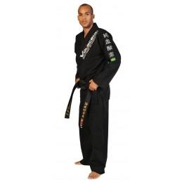 Kimono JuJitsu Bresilien Metal Brawl Noir