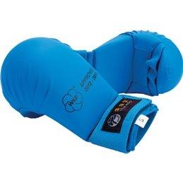 Mitaines karate Tokaido WKF sans pouce Bleu