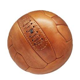 Ballon Football Vintage collection cuir Camel