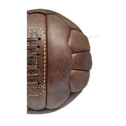 Ballon Football Vintage collection cuir Marron