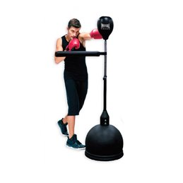 Punching avec barre tournante Power spin metal boxe