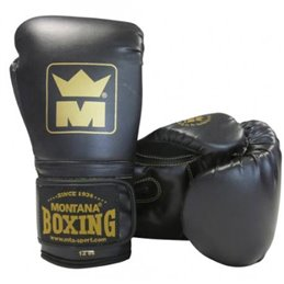 Gants de boxe Montana MMB100 Noir
