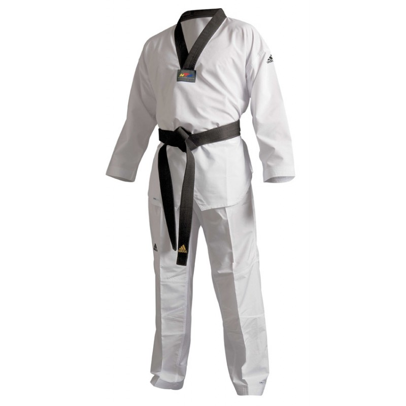 Dobok taekwondo blanc Adidas Adiflex